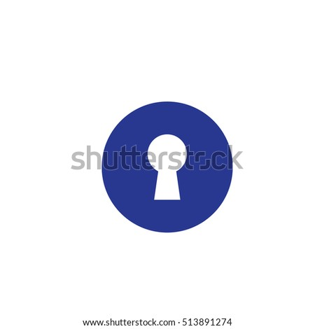 Lock Icon Vector Illustration