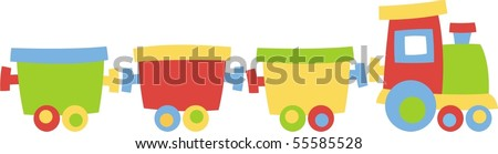 Locomotive - stock vector
