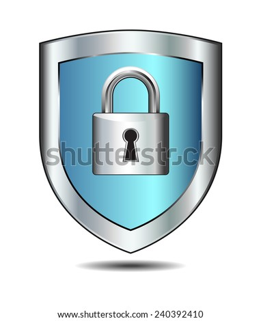 Login concept internet protection - stock vector