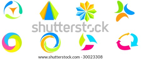 Logo - stock vector