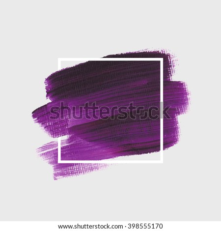 logo art paint template original grunge stock vector 398555170