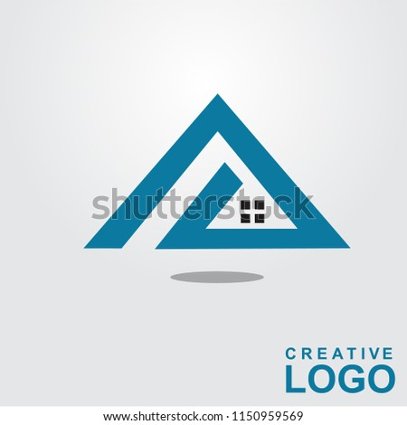 Logo Creative Home Property Concept with color