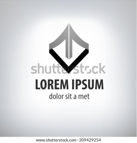 logo design template. - stock vector