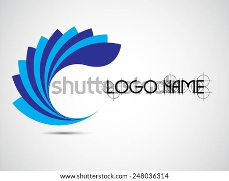 Logo design. Vector illustration - stock vector