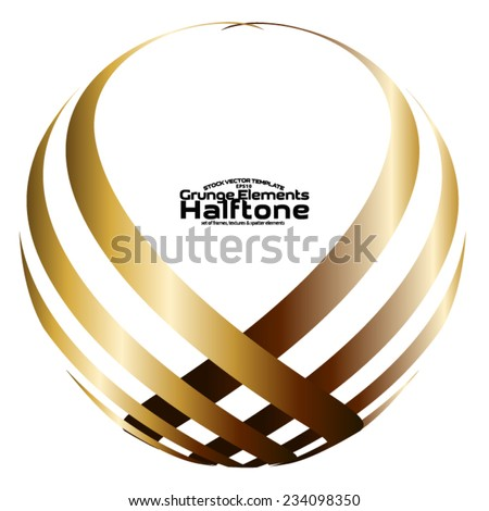Logo elements - design template - corporate logo isolated on white background. easy to use - stock vector