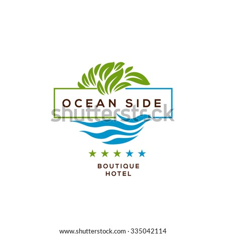 Logo stock images royalty free images vectors for Hotel logo design samples