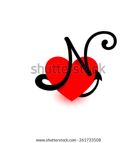 N-name Stock Images, Royalty-Free Images & Vectors ...  Red N Logo Name