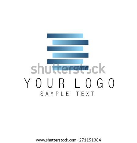Logo icon - stock vector