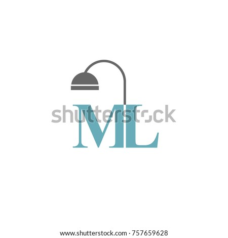 logo interior design logo flat vector template