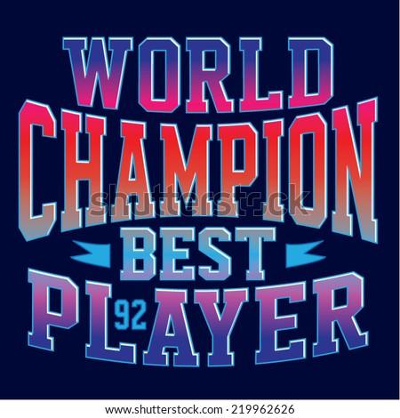 Logo Sports Vector Tee Shirt Graphics Stock Vector 219962626 ...