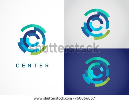 Logo - technology, biotechnology, tech icon and symbol