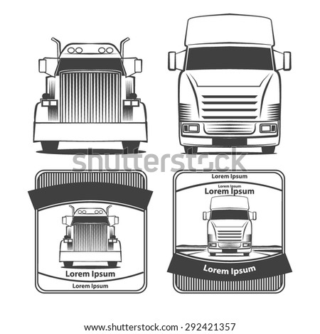 Truck Front View Stock Images, Royalty-Free Images ...