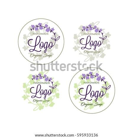 logo vector handmade soap stock vector hd (royalty free) 595933136
