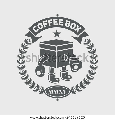 Logotype and Retro Vintage Insignias. Vector design elements, business signs, logos, identity, labels, badges and objects. - stock vector