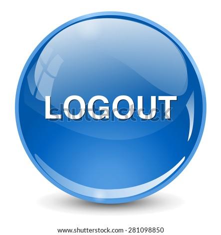 Logout Button Logo Logout Button