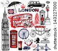 London illustration - stock
