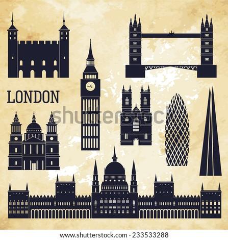 London. Vector illustration - stock vector