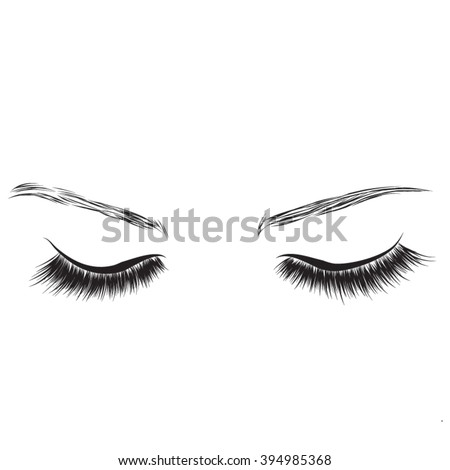 younique eyelash clip art