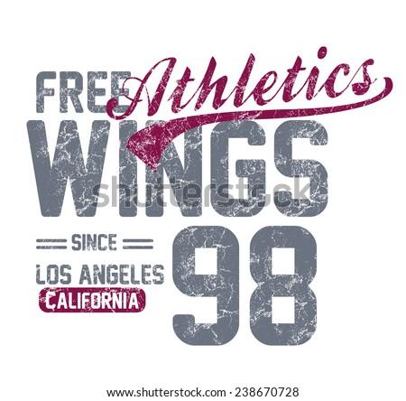 los angeles california city  vector art - stock vector