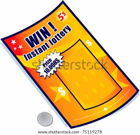 Lottery ticket stock images royalty free images vectors lottery ticket sciox Images