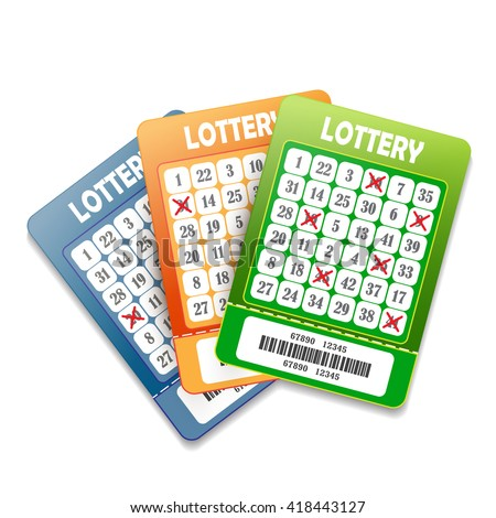 Lottery ticket stock images royalty free images vectors lottery tickets isolated on white background sciox Images