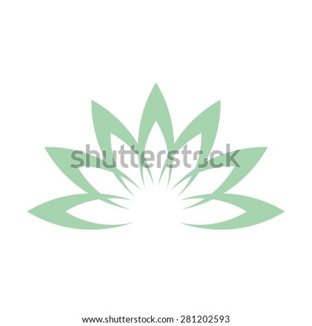 Lotus flower abstract vector logo design stock vector 281202593 lotus flower abstract vector logo design template health spa creative idea asian culture pronofoot35fo Choice Image