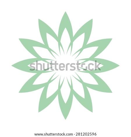 Lotus flower abstract vector logo design stock vector royalty free lotus flower abstract vector logo design template health spa creative idea asian culture mightylinksfo