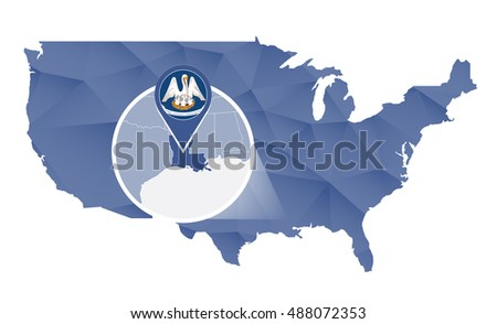 New Orleans Border Stock Images RoyaltyFree Images Vectors - New orleans in us map