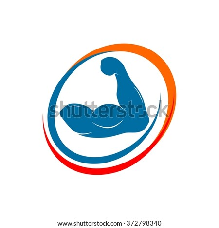 Love Fitness, Health Nature Solution Logo Template