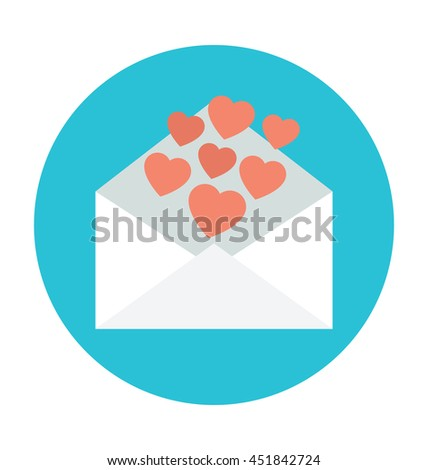 Love Letter Vector Icon