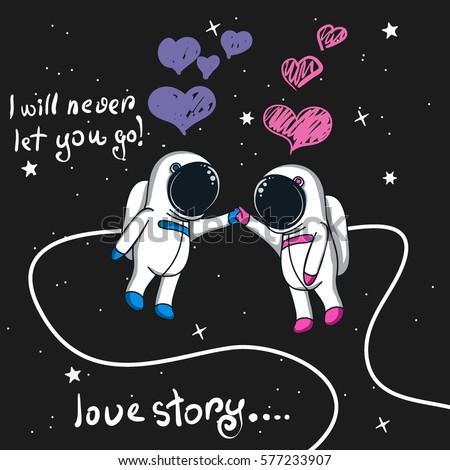 astronaut space love - photo #2