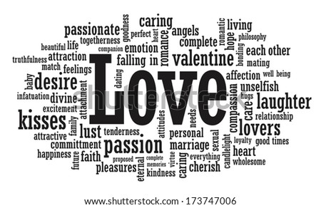 Love word cloud illustration vector format stock vector 173747006 love word cloud illustration in vector format altavistaventures Image collections