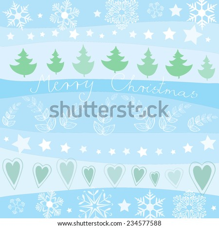 Lovely Christmas Season Vector - stock vector