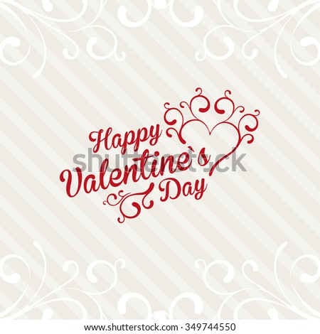 Lovely Valentine`s Day Card