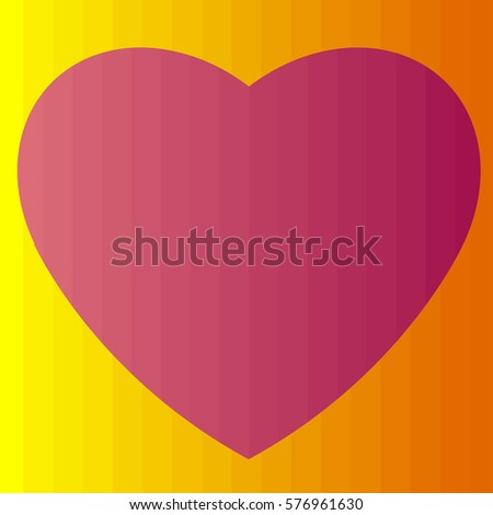 Lover Heart Icon Isolated Sign Symbol Stock Vector 576961630