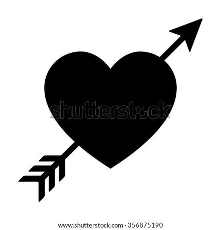 Arrow Through Heart Stock Images, Royalty-Free Images ...