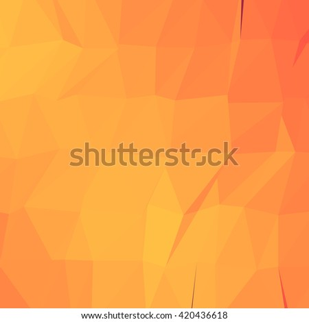 Low poly abstract background. Triangular geometric design.