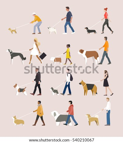 low poly geometric animal dog vector illustration flat design