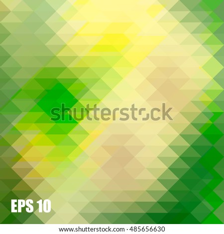 Low polygon Triangle Pattern Background