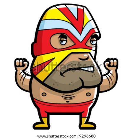 Lucha libre mask clip art