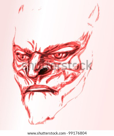 lucifer - stock vector