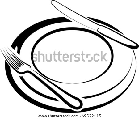 lunchtime - stock vector