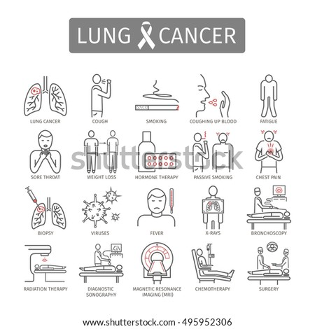 causes symptoms and treatment of lung cancer People think they are due to other causes for this reason, early-stage lung  « diagnosing lung cancer non-small cell lung cancer treatment  lung cancer 101.