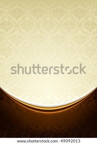 Luxury Background, vector - stock vector