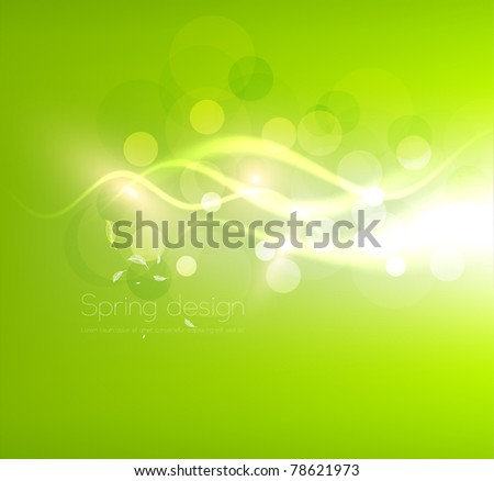 Luxury bright abstract greeting card. Vector summer sky background for design. Eps10.