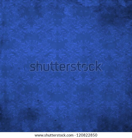 Luxury decorative floral vector pattern. Royal wallpaper - stock vector