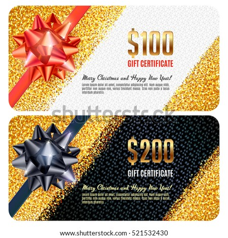 Gift card template luxury design festive gift card templates negle Gallery