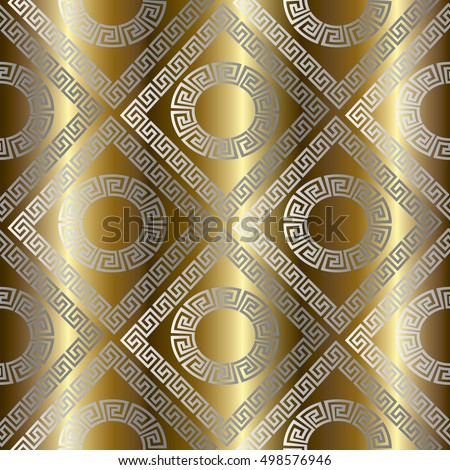 Luxury Gold Abstract Geometric Drapery Vector Stock Vector