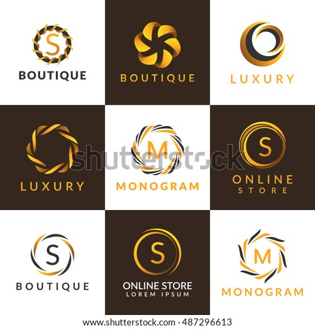 Luxury logo stock photos royalty free images vectors for Hotel logo design samples