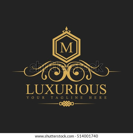 Sparkart 39 s portfolio on shutterstock for Luxury hotel logo
